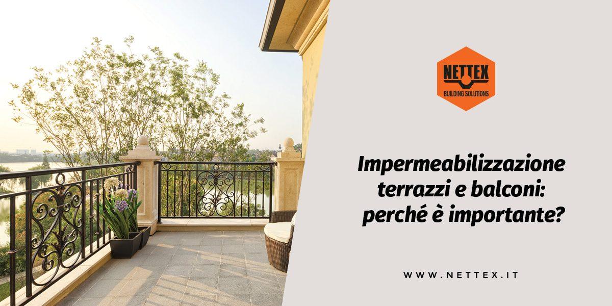 Impermeabilizzazione terrazzi | balconi